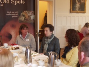 HRH The Princess Royal chats to guests at our Grand Tea Party